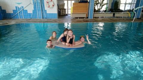 Schwimmen mit dem SCF